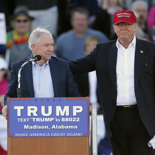 Sen. Jeff Sessions: Loyal To Trump, Defined By Race And Immigration