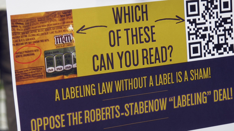 Congress OKs bill requiring first GMO food labels