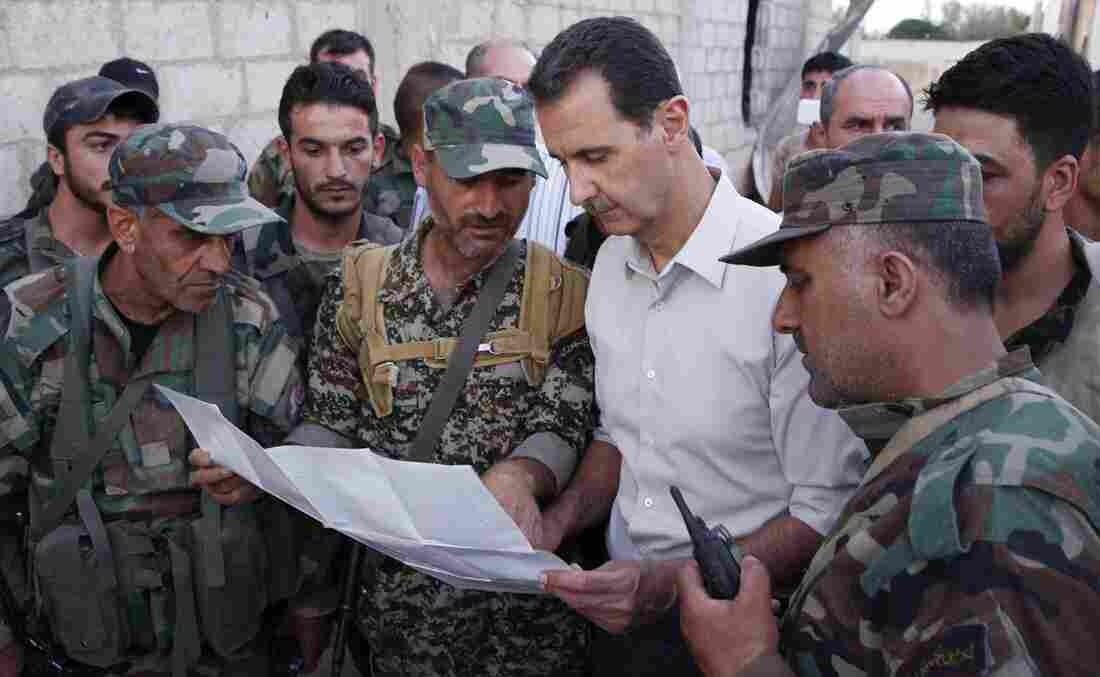 Assad claims he can retake all Syria in months
