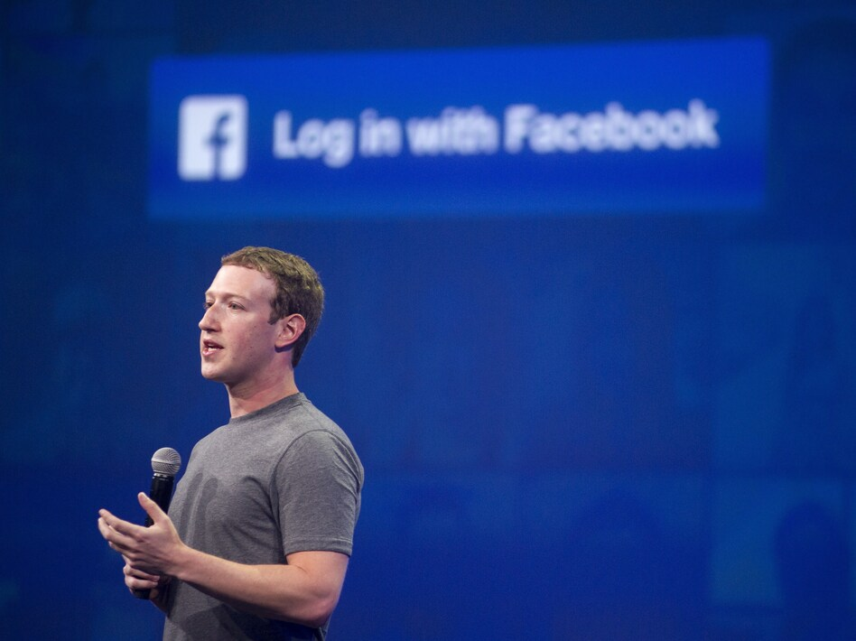 """In a post on Facebook CEO Mark Zuckerberg wrote that the live-streamed images following a police shooting in Minnesota were """"graphic and heartbreaking."""" (Josh Edelson/AFP/Getty Images)"""