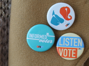 NPR Politics pins