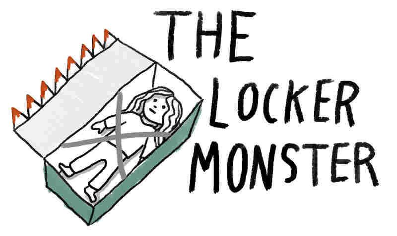 Illustration of the Locker Monster