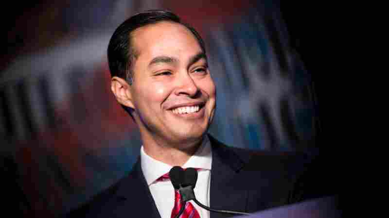 Secretary of Housing and Urban Development Julian Castro addresses the North American Building Trades Union National Legislative Conference on April 19, 2016 in Washington, D.C.