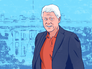 If Hillary Clinton wins the White House in November, then Bill Clinton would be the first man married to a U.S. president. He would also become the first former president to become the first spouse.