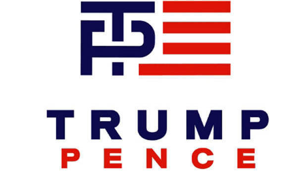 Image result for trump-Pence trumpet logo