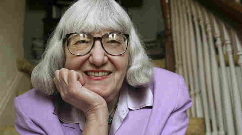 Author Cynthia Ozick in her home in New Rochelle, N.Y. in 2008.
