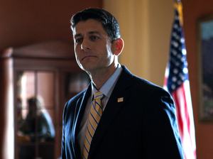 NPR's Steve Inskeep interviews Speaker of the House Paul Ryan in the Speaker's conference room at the U.S. Capitol in Washington, D.C.