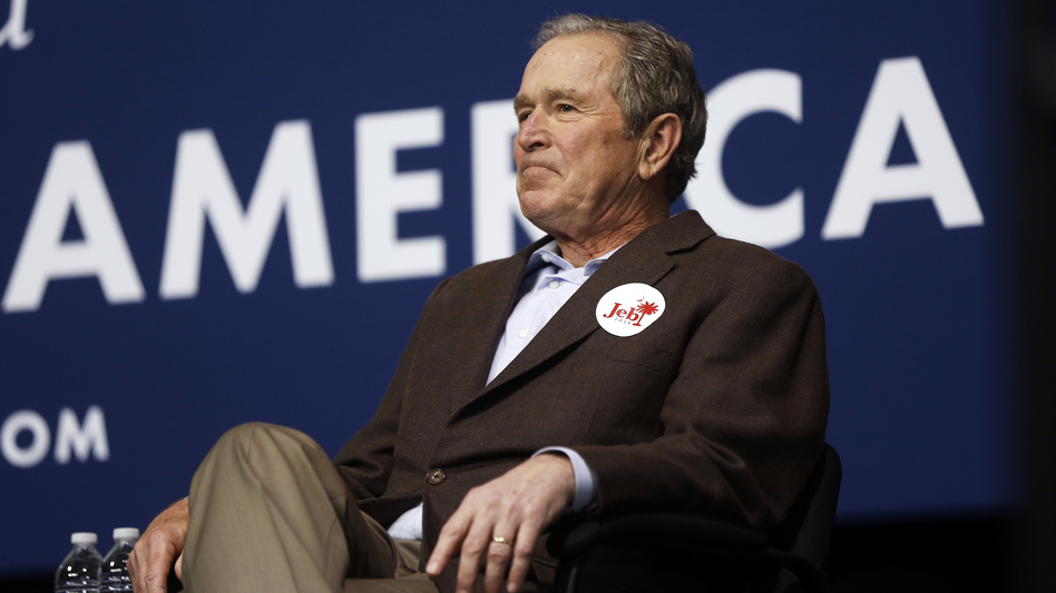 Former President George W. Bush (above); his father, former President George H.W. Bush; and brother Jeb Bush, who ran for president this year, will not be attending this week's Republican National Convention in Cleveland. (Matt Rourke/AP)