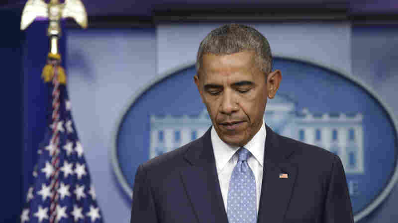 'This Has Happened Far Too Often,' Obama Says, After 3 Officers Killed