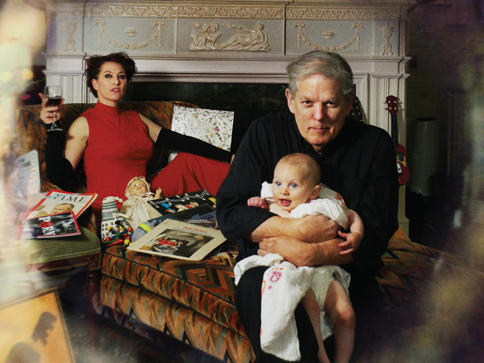 Amanda Palmer and her father, Jack Palmer, pictured on the cover of their new duets album, <em>You Got Me Singing.</em>