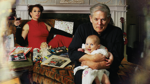 Amanda Palmer and her father, Jack Palmer, pictured on the cover of their new duets album, You Got Me Singing.