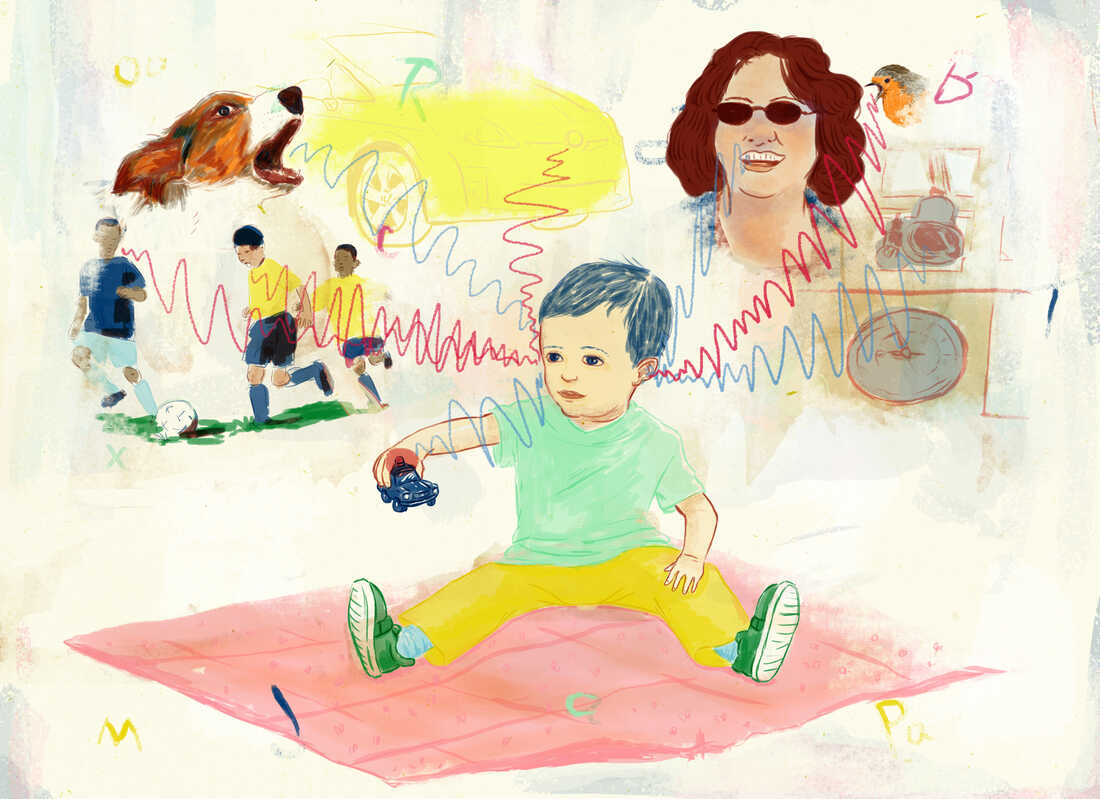 a toddler and sound