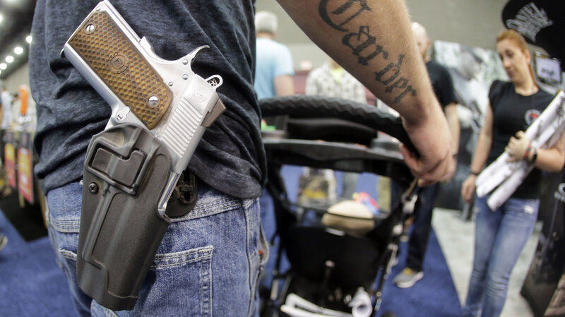 Gun Carry Laws Can Complicate Police Interactions : NPR