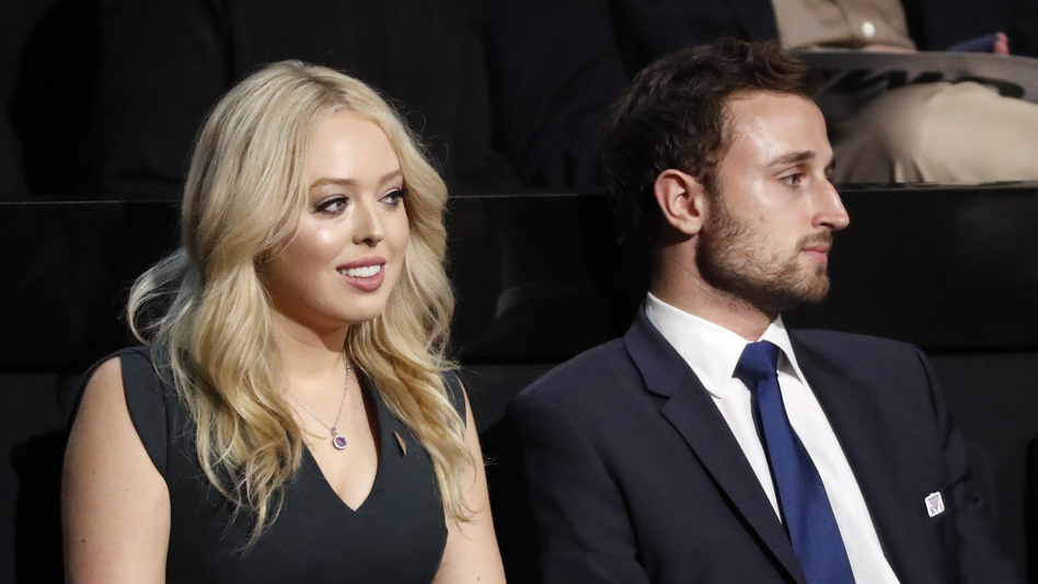 Tiffany Trump, daughter of Donald Trump and Marla Maples, will speak Tuesday night at the Republican convention. She has not been a presence on the campaign trail. (Paul Sancya/AP)