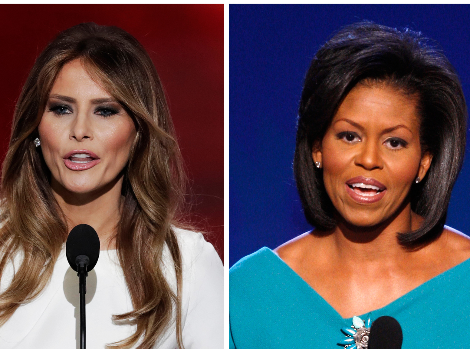 Melania Trump 'plagiarism' speech: Watch what she (and Michelle Obama) said