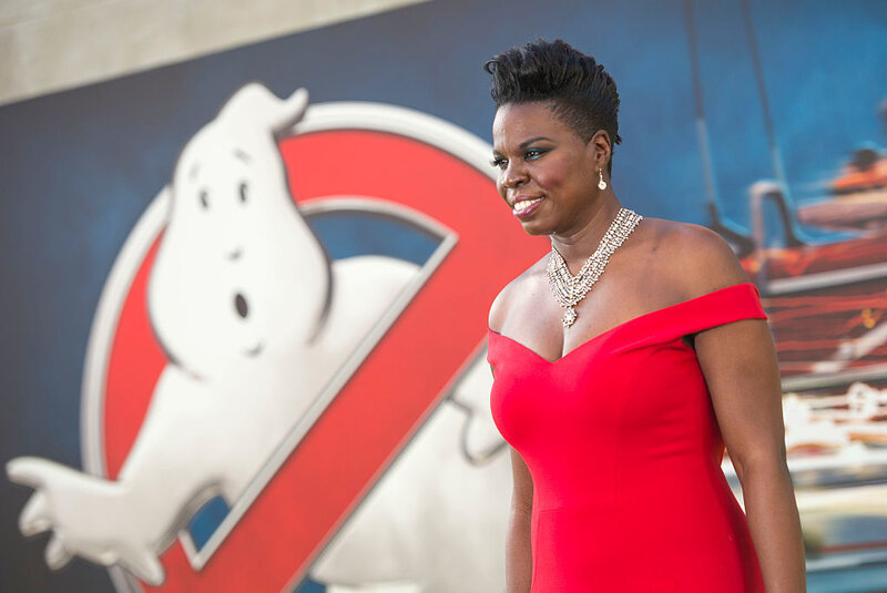 Actress Leslie Jones attends the Los Angeles premiere of Ghostbusters earlier this month.