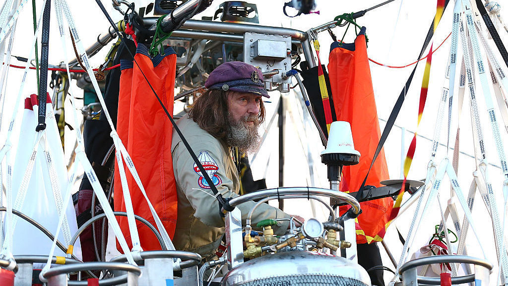 Russian Adventurer Seeks To Break Record In Round-The-World Balloon Flight