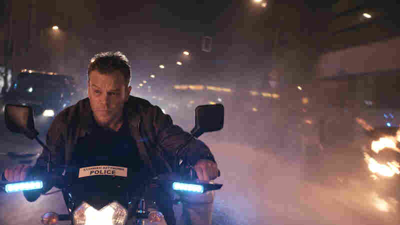 Matt Damon in Jason Bourne.