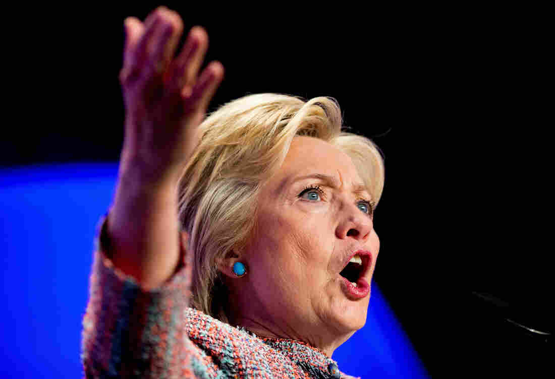 """In a recent interview, Hillary Clinton said she would """"call for white people, like myself, to put ourselves in the shoes of those African-American families"""" — unusually direct language about white people from a major political figure."""