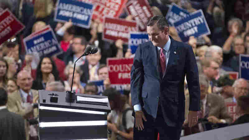 Trump-Cruz Feud Flares Anew On Third Night Of Convention