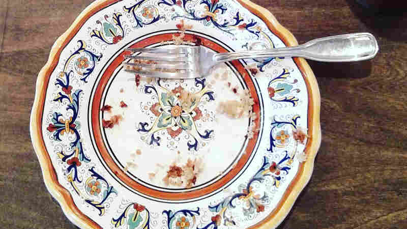 Scraped, Splattered — But Silent No More. Finally, The Dinner Plate Gets Its Say