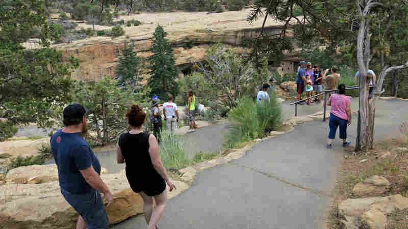 In 2016, Mesa Verde National Park officials closed Spruce Tree House because of crumbling rock. Previous restoration efforts and more extreme temperature swings, which may be connected to climate change, are two reasons why staff here thinks rock is crumbling.