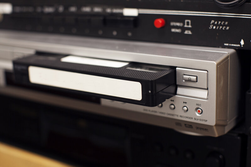 So Long, VCR  We Hardly Knew You (Were Still Around) : All