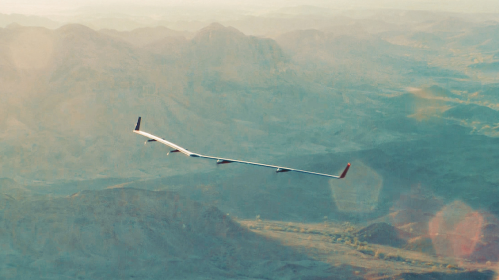 Facebook's internet drone Aquila takes flight