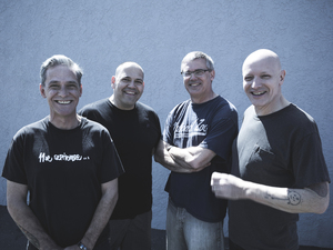 """As you go through the record, each song is directed at another member of the band or is a shared sentiment among the band,"" says Descendents' Milo Aukerman."