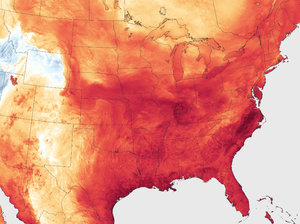 "Forecasters are predicting extreme heat and a high pressure ridge to create a ""heat dome"" across a large section of the United States."