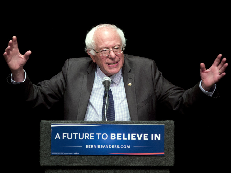 Sen. Bernie Sanders featured heavily in the hacked Democratic National Committee emails released by WikiLeaks Friday. (Mike Groll/AP)