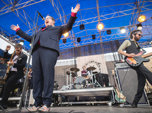 St. Paul & the Broken Bones perform live at the 2016 Newport Folk Festival.