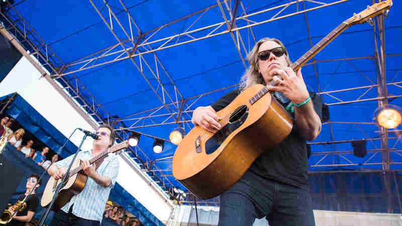Violent Femmes perform at the 2016 Newport Folk Festival.