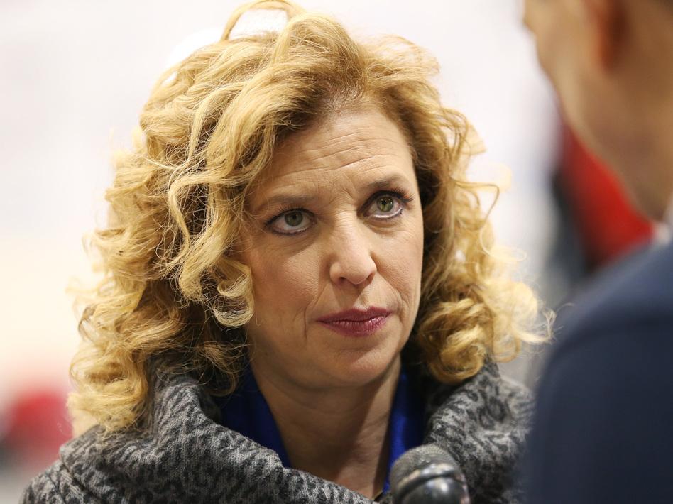 U.S. Rep. Debbie Wasserman Schultz, D-Florida. (Andrew Burton/Getty Images)