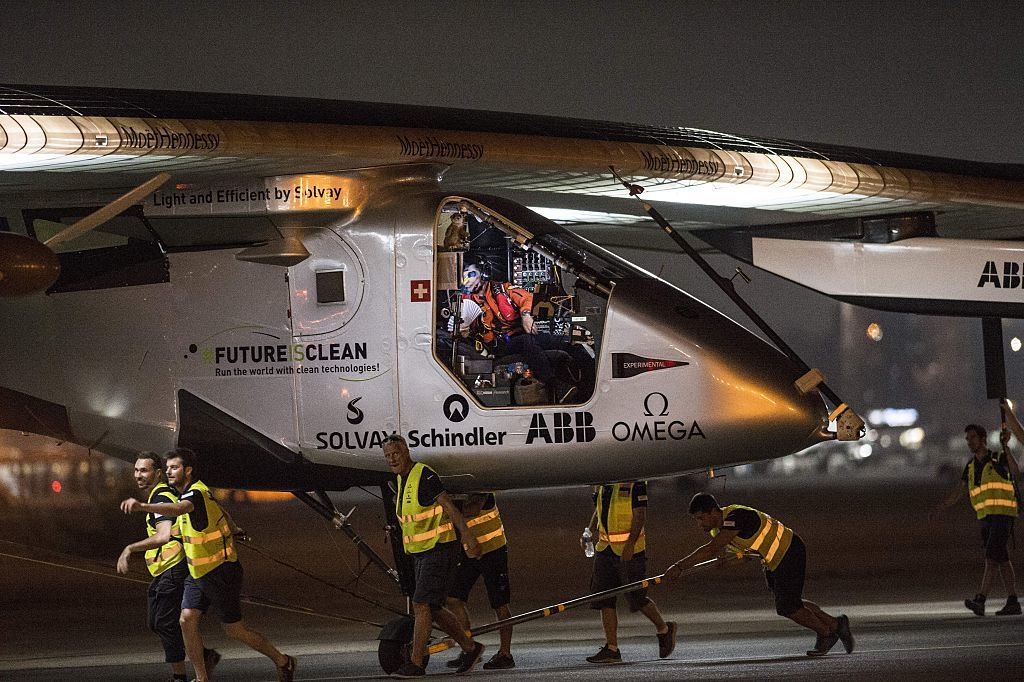 Experimental Plane Sets Off On Final Leg Of Its Round-The-World Journey