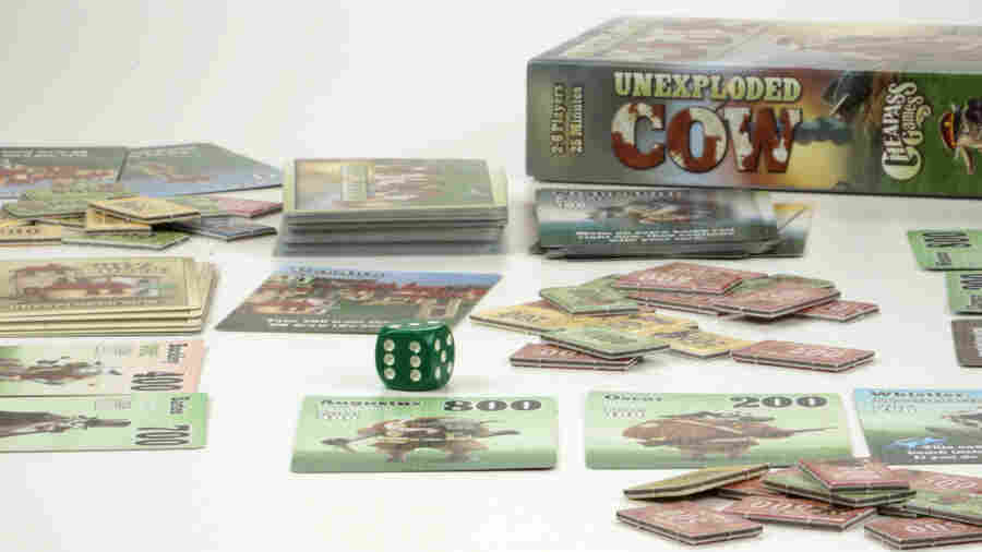 """It's easier for me to sell direct to a customer now,"" says James Ernest, co-creator of the game Unexploded Cow. The board game is one of the most popular created by Ernest, who's made ample use of crowdfunding sites."