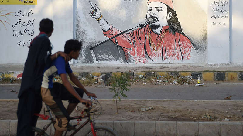 After His Assassination, A Pakistani Artist's Family Keeps