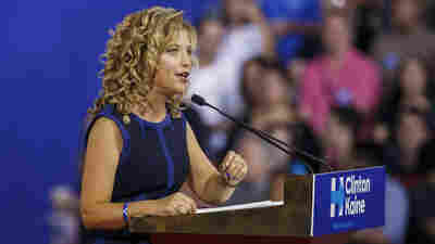 Debbie Wasserman Schultz Schultz is stepping down as chair of the Democratic National Committee amid a furor over an email leak that revealed a bias against Bernie Sanders inside the DNC.