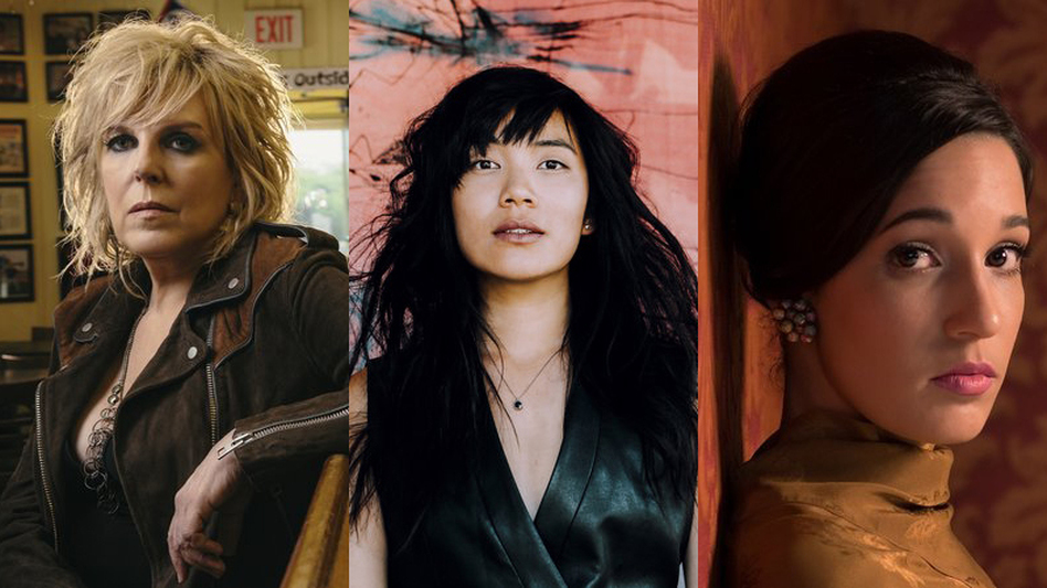 On August 4, Lucinda Williams, Thao And The Get Down Stay Down and iLe will perform at Lincoln Center Out Of Doors for a night with NPR Music. (Courtesy of the artists)