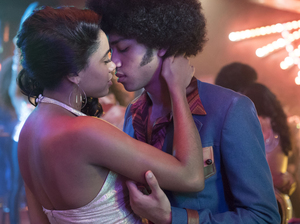 Herizen Guardiola and Justice Smith in Baz Luhrmann's The Get Down, coming to Netflix in August.
