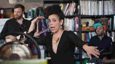 Tiny Desk Concert with Xenia Rubinos.