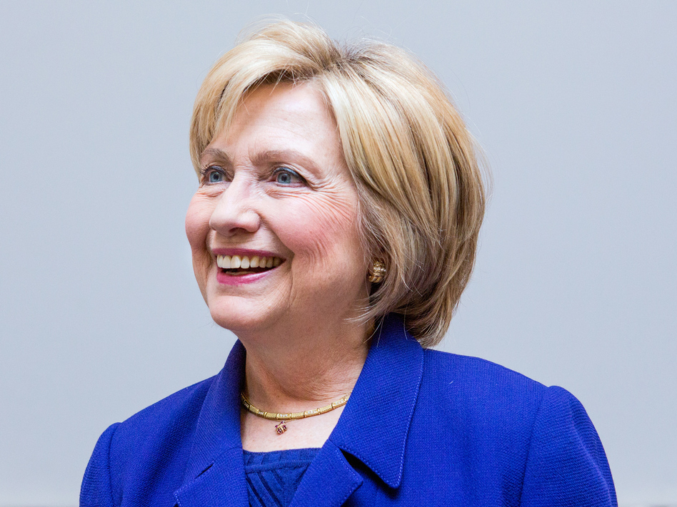 Hillary Clinton became the first woman nominated for president by a major party on Tuesday. (Ariel Zambelich/NPR)