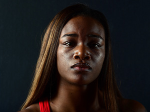 Boxer Claressa Shields, shown here in November 2015, wants to follow in Muhammad Ali's footsteps.
