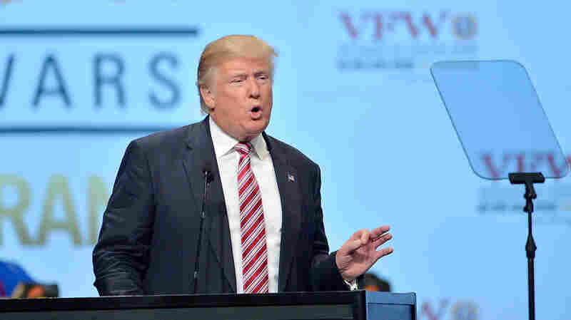From Afar, Donald Trump Basks In DNC Chaos