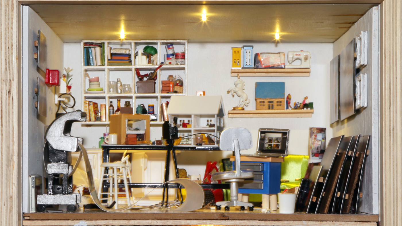 Small Stories: At Home In A Dollhouse' Exhibit On Display At