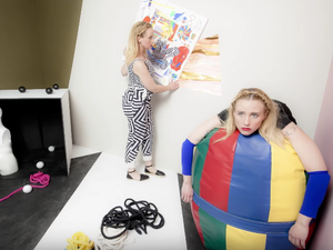 """Flock Of Dimes' Jenn Wasner in a scene from her new video for """"Semaphore."""""""