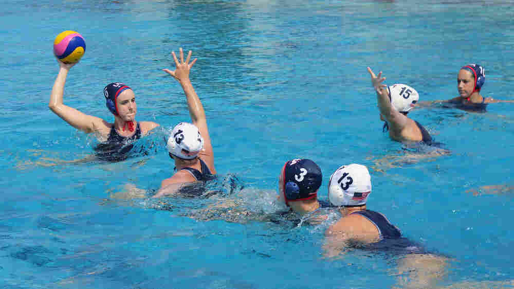In Women's Water Polo, Americans Aim For A Repeat