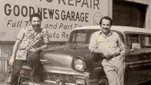 Tom (L) and Ray (R) Magliozzi, co-hosts of NPR's Car Talk