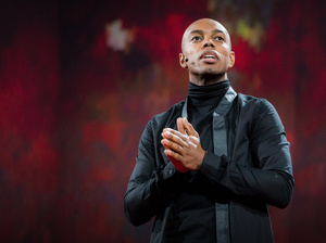 Casey Gerald on the TED Stage.