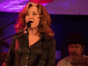 Bonnie Raitt performs live at WXPN's Non-COMMvention at World Cafe Live in Philadelphia.